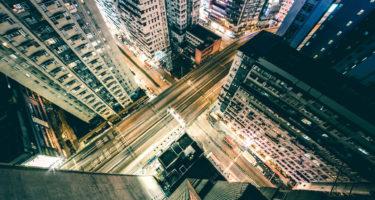 miasto-z-perspektywy-drapacza-chmur